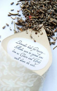 tossed lavender and wedding on pinterest