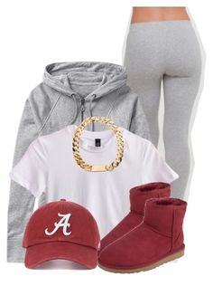 """Untitled #2803"" by alisha-caprise ❤ liked on Polyvore featuring Athleta and UGG Australia"