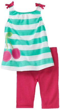 Carters Baby-Girls Infant Stripe Cherries Print Legging Set: http://www.amazon.com/Carters-Baby-Girls-Infant-Cherries-Legging/dp/B006GJU8QA/?tag=greavidesto05-20