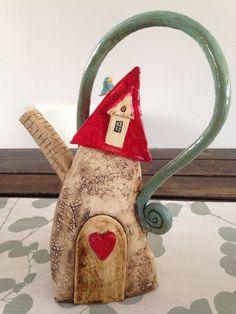 Resultado de imagen de casas hobbit en ceramica