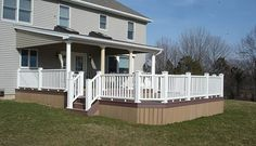 Covered Deck Designs | Pictures of decks, deck photos, decking pictures, deck railing ...