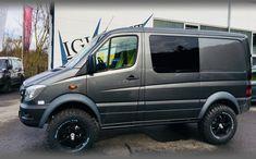 MB Sprinter / Iglhaut Allrad Mercedes Sprinter Camper, Mercedes G Wagon, 4x4 Van, 4x4 Camper Van, Sprinter Van Conversion, Camper Van Conversion Diy, Lifted Van, Bmw Design, Ambulance