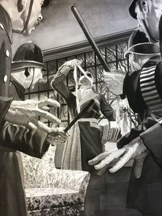 Universal Monsters art series the invisible man by Alex Ross Gothic Horror, Arte Horror, Horror Art, Horror Films, Horror Fiction, Classic Monster Movies, Classic Horror Movies, Classic Monsters, Alex Ross