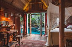 Entire home/apt in Kuta Utara, ID. Our Bali based jungle creation. Space and home for all-around creatives and life explorers. Welcome to be a guest in a tropical vibe. Stay, create, rest, enjoy and meet each other. Twin's bungalow is a design masterpiece! Beautiful teakwood joglo...