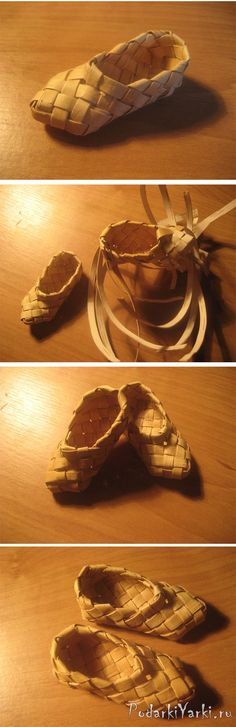 Плетение лаптей - купить подарок ручной работы в Екатеринбурге
