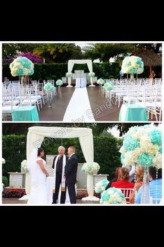 April 25th. Wedding ceremony