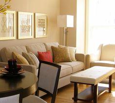 Decorating small condo spaces