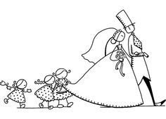 Embroidery Pattern of Absolutely  the Cutest Wedding from  lespassionscreativesdemarie.center blog.net. jwt I just Love this Pattern!!