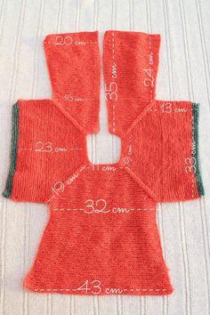 medidas patrón chaqueta punto