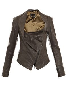 Bounty leather jacket