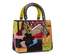 Christian Dior, Sac D'art, Sac Lady Dior, Dior Handbags, Dior Bags, Versace, Sacs Design, Art Bag, Medium Bags