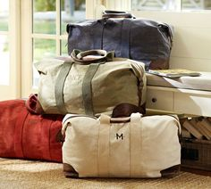 Union Canvas Weekender Bag - Considering offering these to our dapper customers