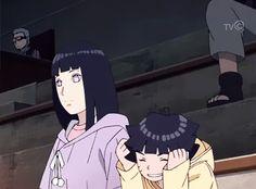 Hinata and Himawari - Boruto: Naruto Next Generations Hinata Hyuga, Naruhina, Naruto Shippuden, Sasuke, Himawari Boruto, Sarada Uchiha, Shikamaru, Anime Naruto, Naruto And Hinata