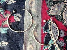 hoop earrings medium hoops Tuareg earrings tuareg by CarmelaRosa