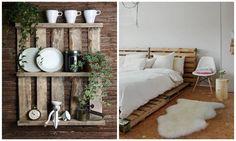 Una cassettiera, una mensola, una fioriera e, perché no, una parete. Tutto completamente in pallet. Ecco 8 idee per riutilizzare in modo creativo i bancali in legno nell'arredamento shabby chic.