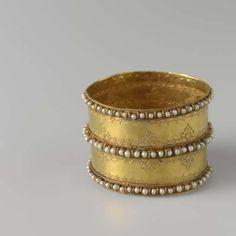 Armband van goud, 1734 - 1754 - Rijksmuseum