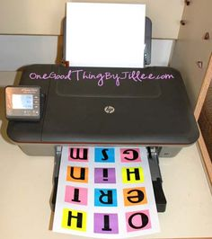 Instructions for printing onto Post-It notes - I can't wait to do this!!