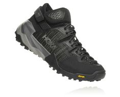 HOKA Women's Arkali Hiking Shoes in Black/Reflective, Size 10 Best Hiking Shoes, Hiking Boots, Soft Heels, High Heels, Ankle Straps, Strap Heels, Yellow Boots, Climbing Shoes, Men Hiking