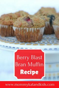 You can never have enough healthy, quick breakfast recipes. This delicious Berry Blast Bran Muffins recipe checks both of those boxes. These muffins are so good that your kids won't even know they're eating something that is super good for them. Fun Easy Recipes, Popular Recipes, Quick Easy Meals, Top Recipes, Quick Healthy Breakfast, Breakfast Recipes, Vegetarian Breakfast, Breakfast Ideas, Healthy Snacks