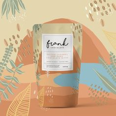 Packaging and Illustration Design - Studio Apelil- Branding that The Indie Practice love! Cool Packaging, Tea Packaging, Food Packaging Design, Packaging Design Inspiration, Brand Packaging, Graphic Design Inspiration, Product Packaging Design, Bottle Packaging, Product Branding
