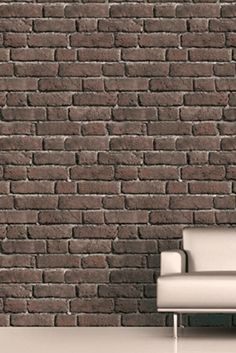 with this brick wall paper you can create an amazing, Manhattan loft style in your home, it really have to be seen and sometimes touched to be believed.