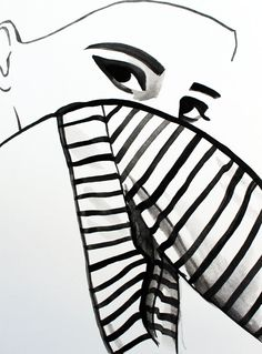 Fashion Illustration by Helen Simms