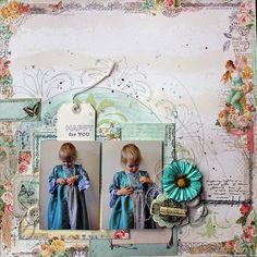 C'est Magnifique Scrapbook Kits and Store: Guest Designer Riikka Kovasin Share Her Amazing November Magnifique Mixed Media Kit Projects!