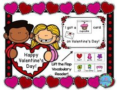 This ESL packet is to help our newcomer ELL's learn Valentine vocabulary.  It would be great for preschool, kindergarten and first grade students as well!  Included:2 Lift the Flap Valentine Vocabulary Foldables in color and black and white16 vocabulary words in color and black and white.