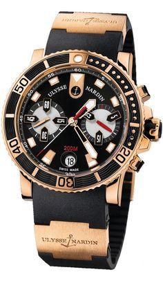 Ulysse Nardin 8006-102-3A/92 Maxi Marine Diver Chronograph