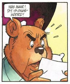 Heer-Bommel Dutch Language, Olie, Bd Comics, Cartoon Characters, Fictional Characters, New Words, Comic Artist, Comic Strips, Scooby Doo