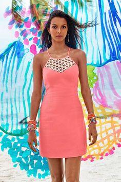 e6906425cdc Lilly Pulitzer Larina Shift Dress Cute Summer Outfits