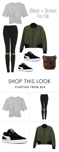 """""""Fall in Florida"""" by lindsaydanielle96 ❤ liked on Polyvore featuring T By Alexander Wang, Topshop, Puma, rag & bone and DUBARRY"""