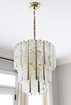 Vintage Venini Murano Glass chandelier