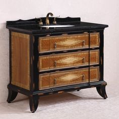 Legion Furniture Absolute Black Granite Top Light Brown Single Sink Bathroom Vanity (Absolute Black Granite Top, no faucet), Size Single Vanities Wood Sink, Legion Furniture, Marble Bathroom Vanity, Vanity, Small Bathroom Vanities, Bathroom Furniture Modern, Black Marble Bathroom, Single Sink Bathroom Vanity, Bathroom