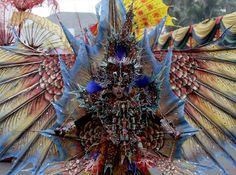 Jember Fashion Carnival 2012 en Indonesia.