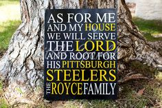 As for me and my house we will serve the by TheLittleSparkleShop