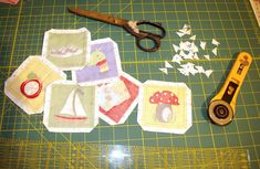 zuzkasim: Fotonávod na látkové pexeso Cutting Board, Cutting Boards