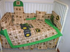 John Deere Crib Nursery Bedding Set By Cutiepatootiebedding 275 00