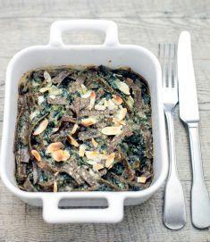Pizzoccheri gratinati con stracchino bietole e mandorle - Tutte le ricette dalla A alla Z - Cucina Naturale - Ricette, Menu, Diete