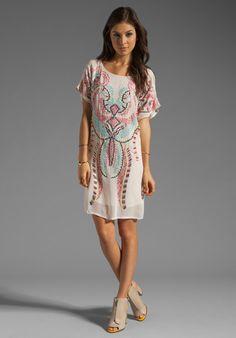 ANTIK BATIK Dori Mini Dress in Nude at Revolve Clothing - Free Shipping!