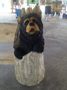 Carved by Shawn Corbin of Chippewa Valley Chainsaw Carver