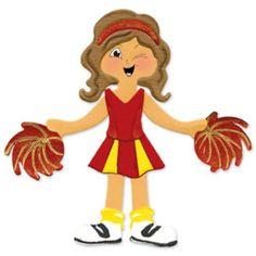 Sizzix Originals Die - Dress Ups Cheerleader Uniform