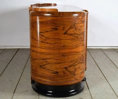 View this item and discover similar for sale at - This elegant Art Deco-style buffet or bar is made of solid wood construction and covered with beautiful exotic burl and walnut veneers with a lacquered Antique Bar, Walnut Veneer, Venetian Mirrors, Wood Construction, Art Deco Fashion, Solid Wood, Buffet, Shabby Chic, Vase