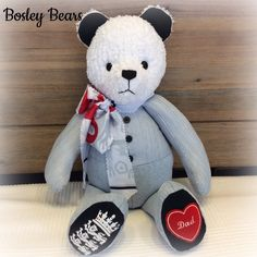 Memory Bears, First Love, Dads, Teddy Bear, Animals, Fathers, Animales, First Crush, Animaux