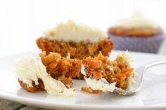 carrot cake cupcakes (gluten & dairy free)