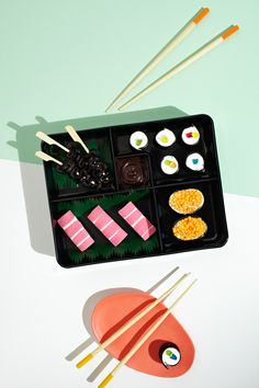 Dessert Bento Box by Theresa Nguyen via thedesignfiles.net !  photo - Phu Tang and food styling - Gemma Lush.