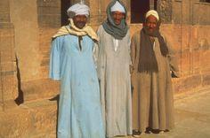 Traje tipico actual Egipto