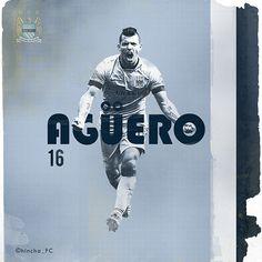 Aguero  Soccer.Fútbol.Football. / 12x12 V.I on Behance