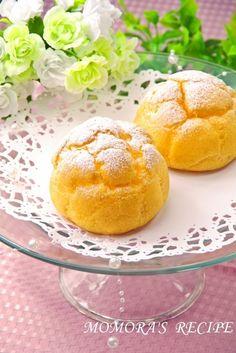 ホットケーキミックスHMとサラダ油で簡単お菓子♪まんまる基本のシュークリーム♡