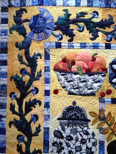 Sewing & Quilt Gallery: The Blue Collection